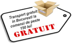 Transport gratuit farmacie onine Bucuresti