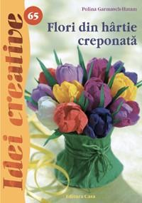 Flori din hârtie creponata - Idei Creative 65