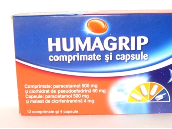 Humagrip-Humex Raceala Gripa