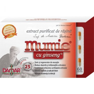 Mumie cu Ginseng x 60 cps