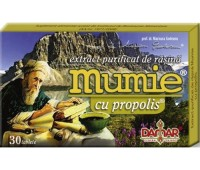 Extract Purificat de Rasina Mumie cu Propolis x 30 tb