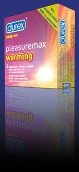 Durex Pleasuremax Warming x3 buc.
