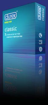 Durex Classic x 3 buc.