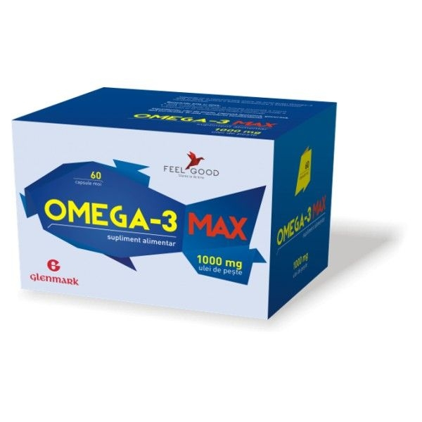 Omega 3 Max 1000 mg x 360/240 mg x 60 cps moi