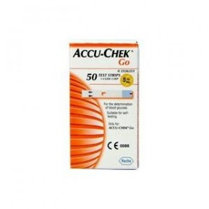 Accu-Check Go Glucose x 50 teste