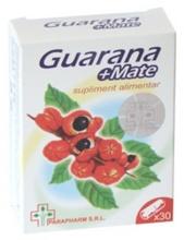 Guarana + Mate x 30 cps 1+1 gratis