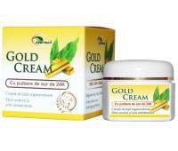 Crema de fata regeneratoare cu pulbere de aur de 24k