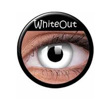 Lentile de contact Crazy WhiteOut