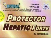 Protector hepatic forte x 40 cps
