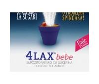 4Lax Bebe Supozitoare cu Glicerina Sugari x10buc