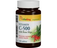 Vitamina C 500 macese - 100 comprimate