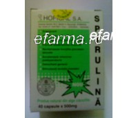 Spirulina 500 mg x 40 capsule