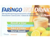 Faringo Hot Drink x 8 plicuri