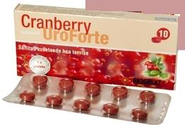 Uroforte Cranberry x10 comprimate