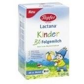 Topfer kinder organic follow on milk 500 gr 12+