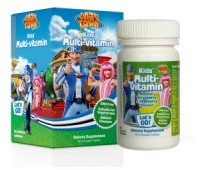 Multivitamin Lazy Town x60cps