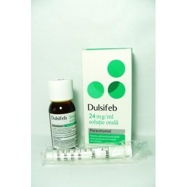 Dulsifeb Solutie orala 24mg/ml x 100 ml