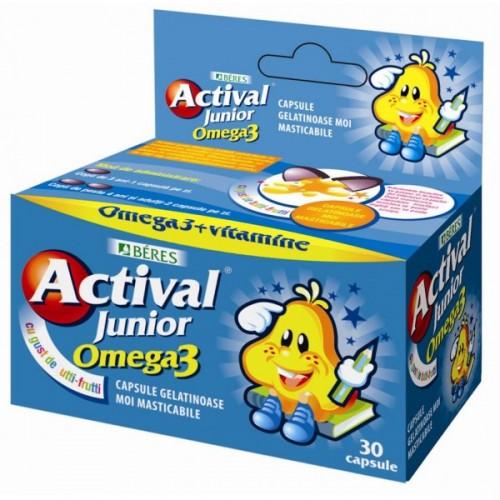 Actival Junior Omega 3 x 30 cps masticabile