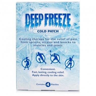 Deep Freeze Plasturi analgezici x 4 buc