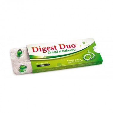 Digest Duo Greata si Balonare x 15 cps moi