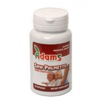 Saw Palmetto 500mg 60cps 1+1 gratis