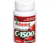 Vitamina C 1500 mg Macese x 30 cps