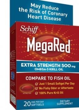 MegaRed Forte Omega-3 Ulei de Krill x 20 cps