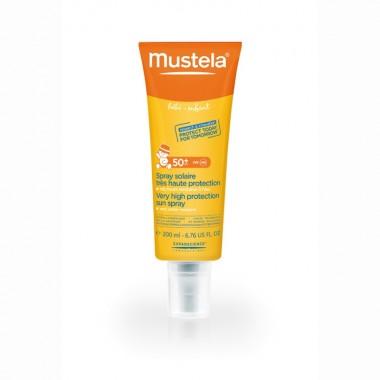 Mustela Spray protectie solara foarte ridicata SPF 50+ x 200 ml