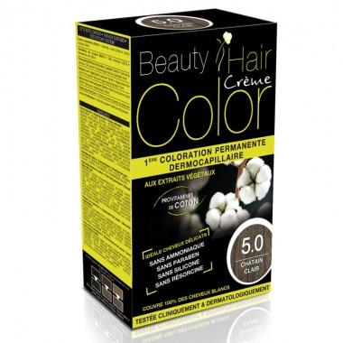 Beauty Hair Creme COLOR 5.0 saten deschis