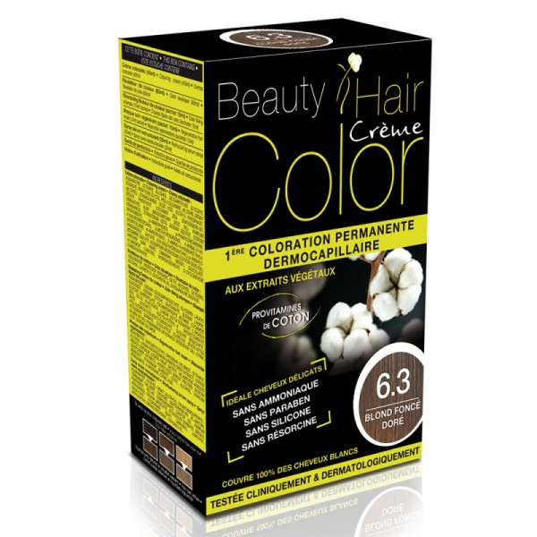 Beauty Hair Creme COLOR 6.3 blond inchis auriu