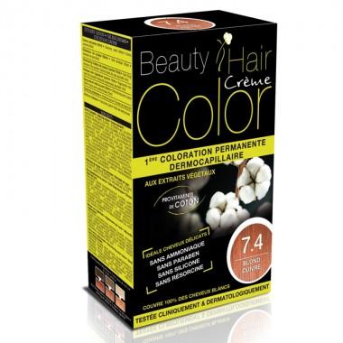Beauty Hair Creme COLOR 7.4 blond maron cald