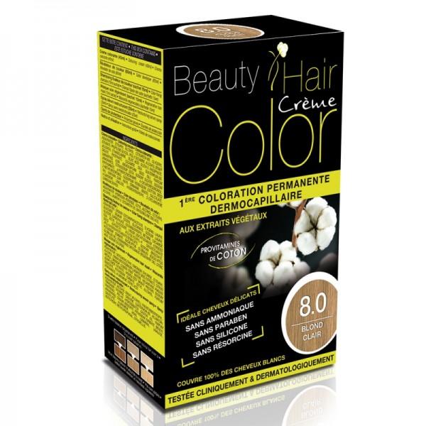Beauty Hair Creme COLOR 8.0 blond deschis