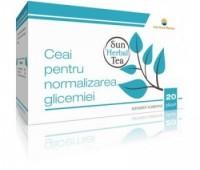 Sun Herbal Ceai Normalizarea Glicemiei x 20pl