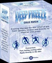 Deep Freeze Plasturi x 4 buc