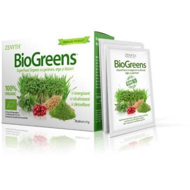 Bio Greens pudra 28 plicuri