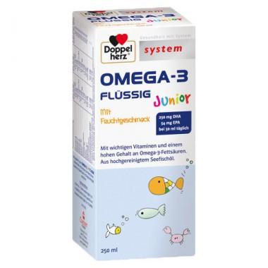 Doppelherz System Omega 3 Junior Sirop x 250ml