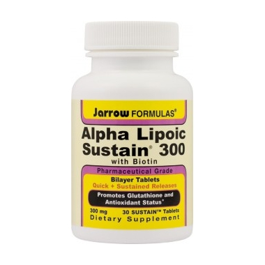Alpha Lipoic Sustain 300mg x 30 tablete, Secom