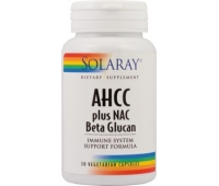 AHCC plus NAC BETA GLUCAN x 30 capsule vegetale, Secom