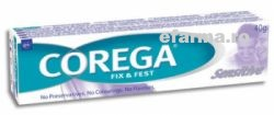 Corega Fix & Fest Adeziv Dentar Sensitive