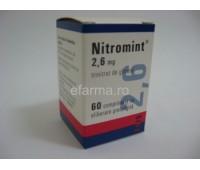 Nitromint 2.6 mg comprimate cu eliberare prelungita