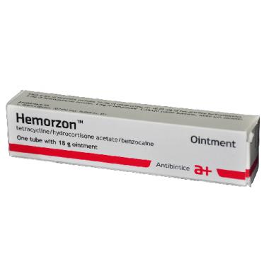Hemorzon Unguent Antibiotice Romania