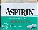 Aspirina Bayer Comprimate x 100 cpr