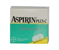 Aspirina Bayer Comprimate Efervescente cu Vitamina C X 20