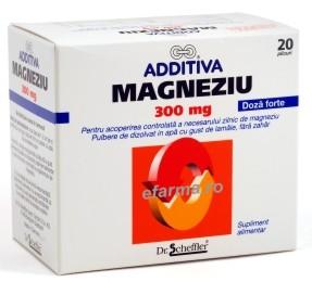 Additiva Magneziu 300 mg
