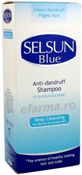 Selsun Blue Sampon Antimatreata Par Gras