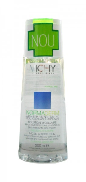 Vichy Normaderm Solutie curatare ten probleme 200 ml