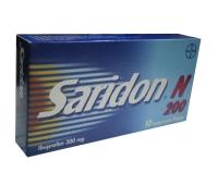 Saridon N 200 MG X 10 CPR