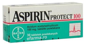 Aspirin Cardio 100 mgx 30 cpr