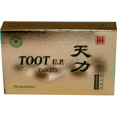TOOT UP (Tianli Ultra Power Tablete) x 8 tb, Tianlin