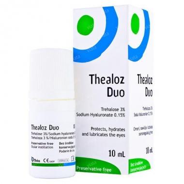 Thealoz Duo Solutie Oftalmica x 10 ml